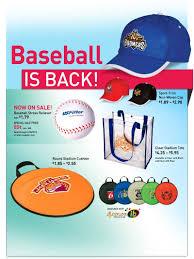 baseball logo promotional items