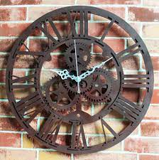 compare s on gears wall clock