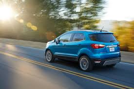 2018 ford jeep. contemporary ford 2018 ford ecosport rear left quarter in ford jeep
