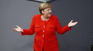 Photo by sean gallup/getty images. Angela Merkel Le Sens De L Histoire Le Temps