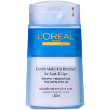 loreal paris dermo expertise gentle lip and eye makeup remover 125 ml to