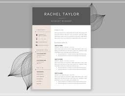 27 best 20+ Resume Cover Letter Template Word, EPS, Ai and PSD ...
