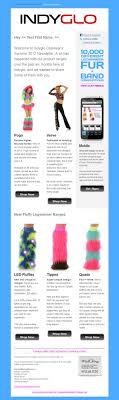 Email Newsletter Design Price Indyglo Newsletter Design Darren Price
