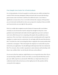 Free Sample Of A Cover Letter How To Write A Cover Letter For A Resume