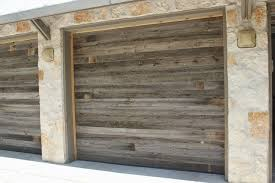 barnwood garage door