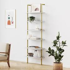 wall mounted bookcases home office