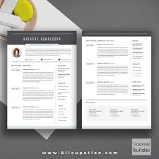 Professional Resume Template Creative Cv Template Cover Letter