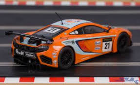 mclaren mp4 12c gt3 special edition. scalextric dpr mclaren mp412c gt3 gulf 21 c3287 slot car rear mclaren mp4 12c gt3 special edition