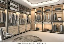luxurious walk in closet. Walk In Closets Rendering Minimal Loft Luxury Wood Closet With Wardrobe Ideas Do It Yourself . Luxurious