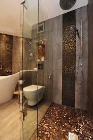 interlocking floor tiles bathroom contemporary with accent tiles ceiling lighting