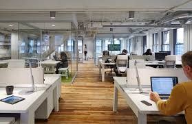 loft style office. Fine Loft Ceilings And Exposed Mechanical Services Were Painted White Office Gray To Loft Style Office O