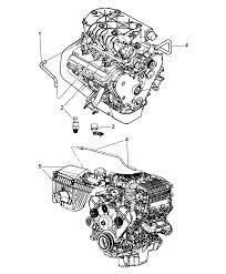 2007 dodge nitro crankcase ventilation mopar parts giant 2007 dodge nitro engine exploded view 2007 dodge
