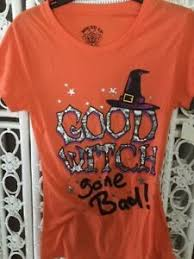 Small T Shirt Size Chart Halloween Good Witch Gone Bad T Shirt Junior Small See Size