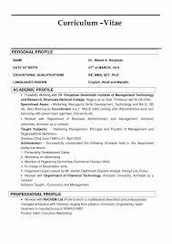 Resume Bio Example Best Resume Bio Therpgmovie 90