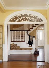 Doorway Designs wonderful, classic, built-in bench a feature from homes of