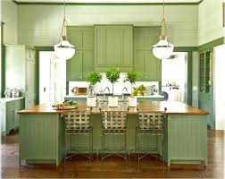 Green Color Kitchen Cabinets Kitchen Rustic Green Kitchen Cabinets Featuring Traditional
