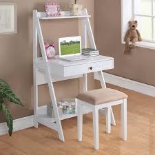 2 pc white black walnut cherry big drawer storage shelf student intended for stylish household small white writing desk designs
