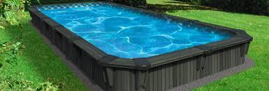 Semi Inground Pools Pool Landscaping Toronto Markham