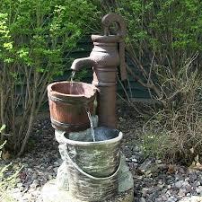outdoor water fountain ideas