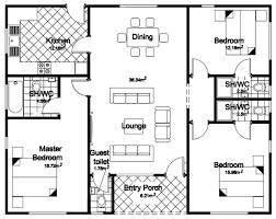the best images floor plan 3 bedroom bungalow house plans pdf
