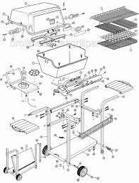 Broil mate grill parts for model 202 4 202 4 33a33631 part diagram 1 grill model