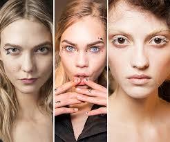 cut crease style etcetera spring summer 2016 makeup trends bold eyeliner flicks makeup trends ss 2016