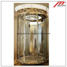 Mayford Lighting Hot Item Villa Elevator With Luxury Car Wall Home Lift