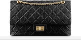 Large classic handbag, lambskin & gold-tone metal-black & burgundy ... & Classics Adamdwight.com
