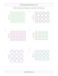 coloring groups of shapes to represent fractions a math worksheet fraction worksheets fractions_model_parts_group_color_00 pdf free 5th grade sheets 4th printable 3rd 2nd 1048x1356 1000 images about fraction worksheets on pinterest coloring 4th on fractions to decimals 5th grade printable