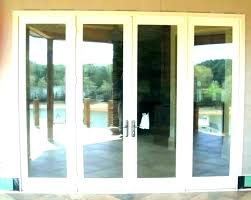 sliding glass doors at home depot patio 3 panel door panels andersen d