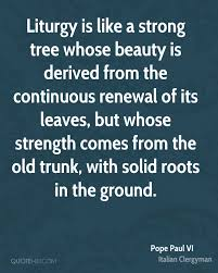 Strength And Beauty Quotes Best Of Pope Paul VI Beauty Quotes QuoteHD