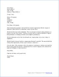 Firing Letter 5 Firing Letter Template West Of Roanoke