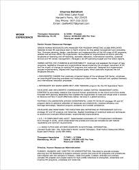 Federal Resume Template Federal Resume Template 10 Free Samples Examples  Format Templates