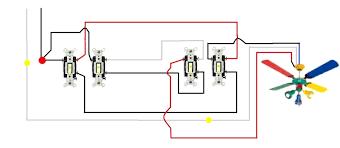 3 way switch wiring diagram for ceiling lights data striking fan rh releaseganji net a light switch wiring 3 way switch wiring diagram for l2 wire cable