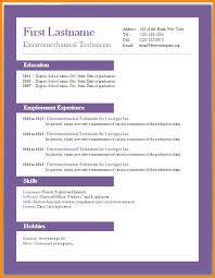 Word Resume Template 2010 Enchanting Resume Templates Word Resume Resume Templates For Word Full Size