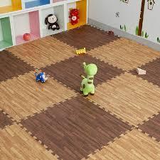 9pcs 30 30cm imitation wood foam exercise floor mats gym garage kids play mats in mat from home garden on aliexpress com alibaba group