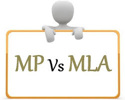Indian Parliamentary System Chart Difference Between Mla And Mp With Comparison Chart Key