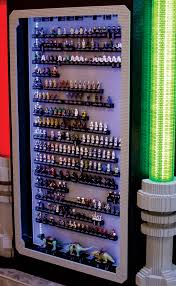 Star Wars Cabinet Massive Lego Star Wars 15th Anniversary Minifigure Case Special