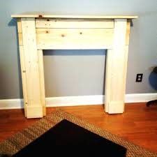 fake fireplace design how to build a faux fireplace mantel ideas