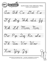 Handwriting Paper Printable Free Mesmerizing Free Print Alphabet Letter Worksheets FREE ABC's Printable