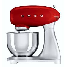 50s Style Kitchen Appliances Smeg 50s Retro Stand Mixer Red Dionwired