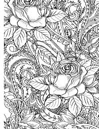 Small Picture 271 best Rose Art coloring pages images on Pinterest Rose art