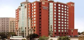 garden grove hotel. Embassy Suites Anaheim - South Hotel, CA Exterior At Night Garden Grove Hotel