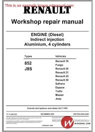 renault engine schematics wiring diagram technic renault engine diesel motor 852 j8s pdf this manual hasrenault engine diesel motor 852 j8s