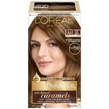 L Oreal Ul63 Warmer Hi Lift Gold Brown Hair Color Box Beauty