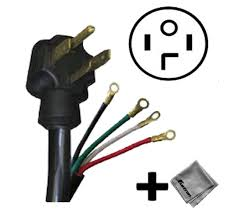 amazon com replacement cord cable for samsung 7 5 cu ft 11 samsung dryer installation video at Samsung Electric Dryer Wiring Diagram