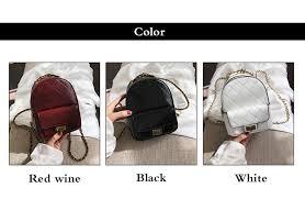 High Quality Small Women Backpacks <b>2021 New PU Leather</b> ...
