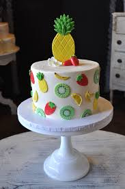 Tropical Fruit Theme Party Cake Sugar Bee Sweets Bakery Www