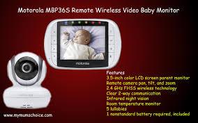 motorola 2 baby monitor. motorola mbp36s remote wireless video baby monitor best monitor - youtube 2