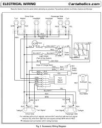 ezgo factory accessories wiring diagram electric cartaholics golf cart forum